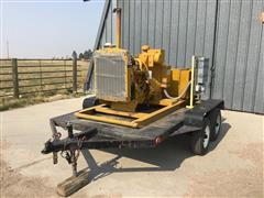 Allis-Chalmers 433T Generator On 2005 Homemade Utility Trailer