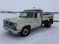 1987 Dodge D350 Dump Truck