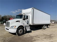 2015 Kenworth T270 S/A Box Truck