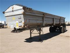 1999 Lufkin T/A Hydraulic Dump Trailer