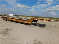 1977 Trail-Eze 5542 T/A Flatbed Trailer