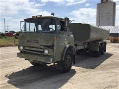 1970 GMC Cabover Water Tanker