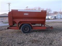Oswalt 2840 Ensilmixer Mixer Feeder Wagon
