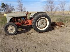 Ford 2N 2WD Tractor For Parts W/Tire Chains
