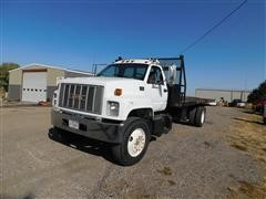 1999 GMC C7500 Roll Back Truck