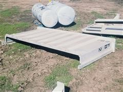 Aero Industries Inc Aluminum Front Rack For Flatbed Trailer
