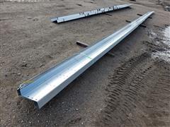 """Behlen Galvanized 10"""" Steel Purlin"""