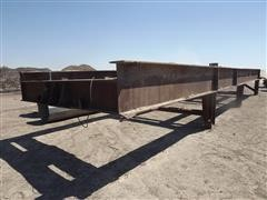 Steel Crusher Frame Bridge
