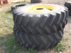 20.8 R 38 Tires On 10 Bolt John Deere Wheels