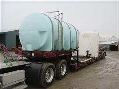 1980 King T/A Water/Sprayer Tender Trailer