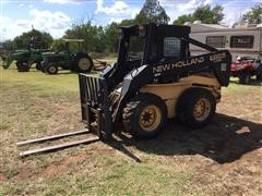 1999 New Holland LX865 Turbo Super Boom Skid Steer