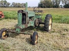 John Deere A Wide Front End 2WD Tractor