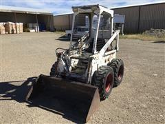 Bobcat M-610 Skid Steer W/Bucket