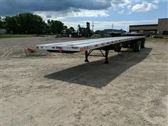 2006 Transcraft Eagle W2 Super Beam T/A Flatbed Trailer
