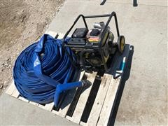 Champion Water Pump And Hose