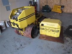 Wacker RT820 Articulated Walk Behind Compactor For Parts Only