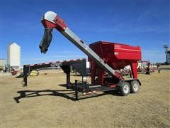 Patriot 245 T/A Seed Tender On Gooseneck Trailer W/Belt Conveyor
