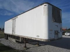 1972 Strick Enclosed Van Trailer