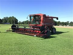 1995 Case IH 2188 Combine W/Flex Header