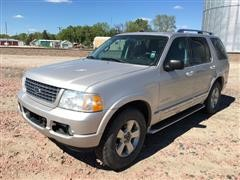 2004 Ford Explorer Limited 4 Door 4x4 SUV