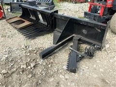 2019 Paladin Wolverine Skid Steer Attachments