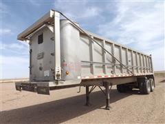 2002 East 35' Hydraulic Tilt T/A Dump Trailer