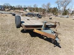2008 Kaufman Tilt Bed Flatbed Trailer
