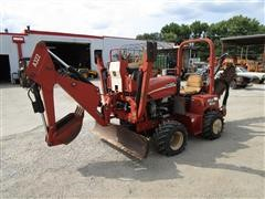 2005 DitchWitch RT40 4x4 Trencher W/Backhoe