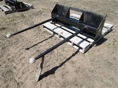 2015 Mahindra KBSSSFDS Double Front Hay Spear Skid Steer Attachment