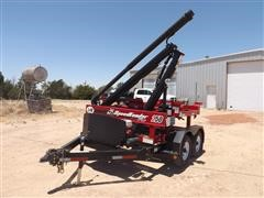 2017 J&M SpeedTender Pro 250 2-Box Seed Tender With T/A Trailer
