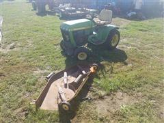 John Deere 212 Tractor Mower