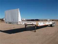 1974 Utility 44' T/A Flatbed Trailer