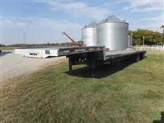 2013 Transcraft 53' Aluminum Step-Deck Spread Axle Or T/A Trailer