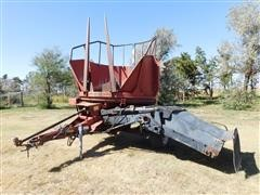 Hesston BP25 Bale Processor W/Hydraulic Tilt Tub Bale Loading