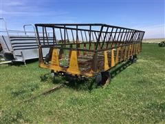 4 Wheel Hay Feeder
