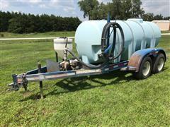 Schaben Water Tank Trailer W/Pump