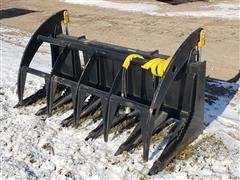 2019 Mid States Skid Steer Heavy-Duty Brush Grapple