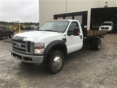 2008 Ford F450 Super Duty Flatbed Dump Truck