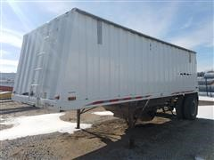 1995 Jet Co 22' Hopper Grain Trailer