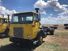1983 White Volvo WG S/A Cabover Truck Tractor
