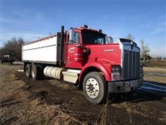1985 (Titled As A1984) Kenworth W900 T/A Grain Truck