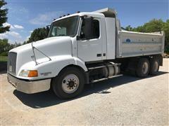 2001 Volvo VNL64T T/A Dump Truck