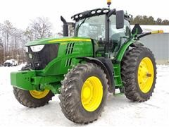 2016 John Deere 6215R MFWD Tractor