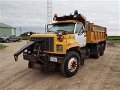 1996 GMC TopKick C7H064 T/A Dump/Snow Plow