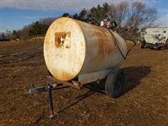 500 Gallon Portable Fuel Trailer