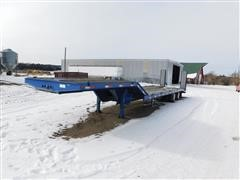 2008 Kaufman T/A Drop Deck Implement Trailer