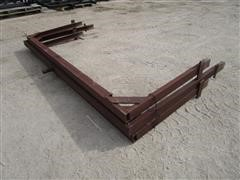 Shop Built Trailer Bed Stake Pocket Freight Risers