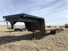 1974 Flying L 20' T/A Flatbed Trailer