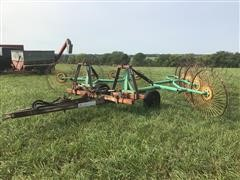 Kelderman 4-Wheel Hay Rake