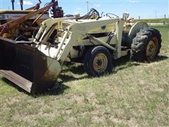 1966 Ford 4400 Utility 2WD Tractor W/Loader